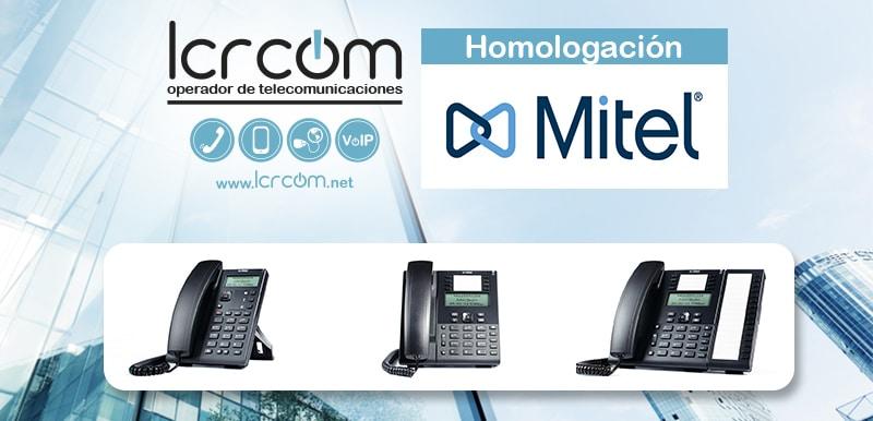 Homologación Terminales SIP de Mitel - Blog LCRcom