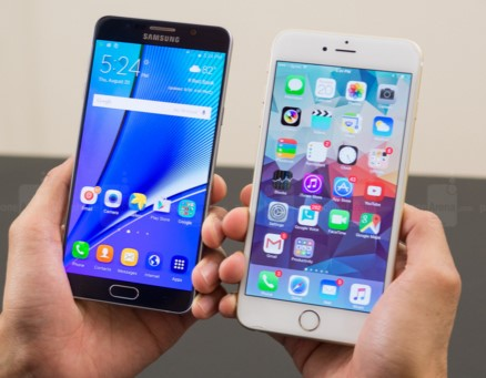 Samsung Galaxy S7 Edge vs iPhone 6 Plus - Blog LCRcom