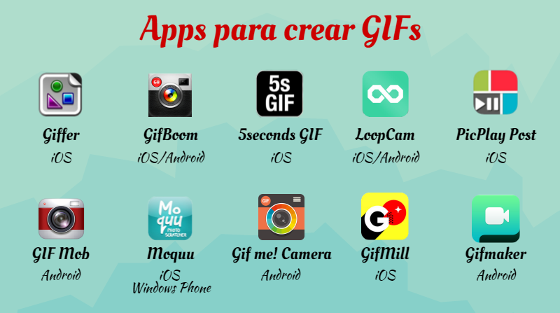 Apps para hacer GIFs - Blog LCRcom