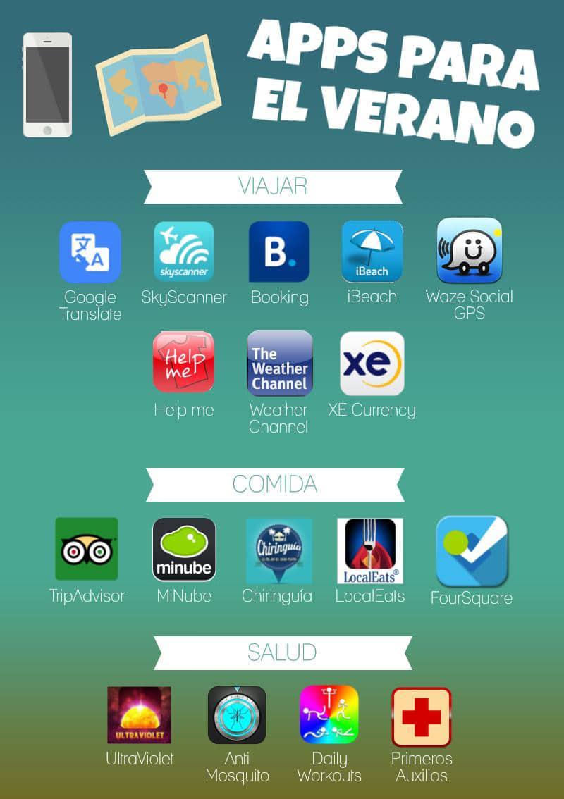 Apps para el verano - Blog LCRcom