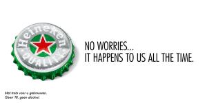 Heineken se burla de Apple
