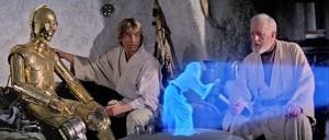 Holograma Princesa Leia - Blog LCR