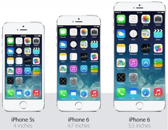 tamaño iphone 6