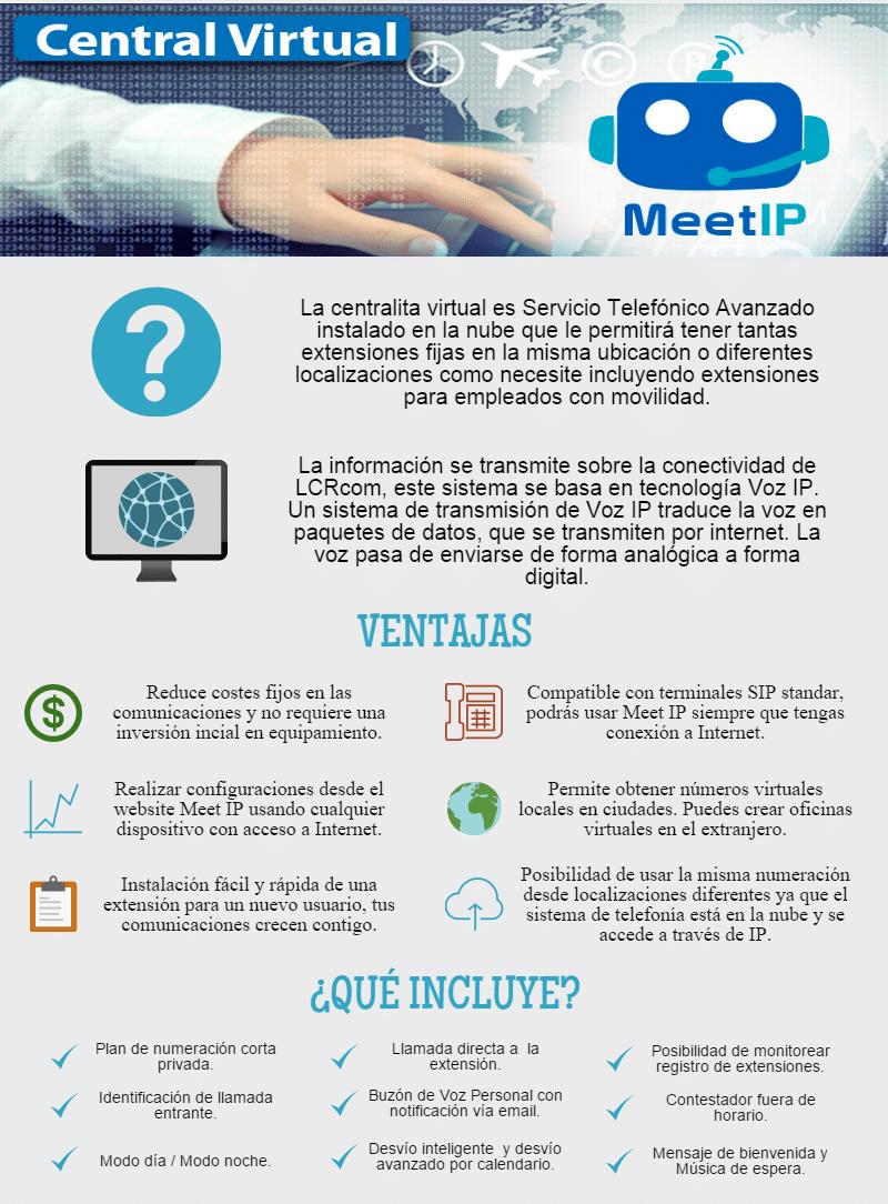 Central Virtual Meet IP - LCRcom